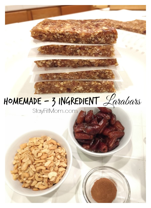 how to make homemade larabars